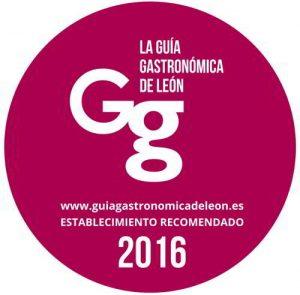 Distintivo Guía Gastronómica de León