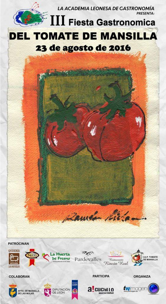 XXVII Feria del Tomate de Mansilla de las Mulas Cartel