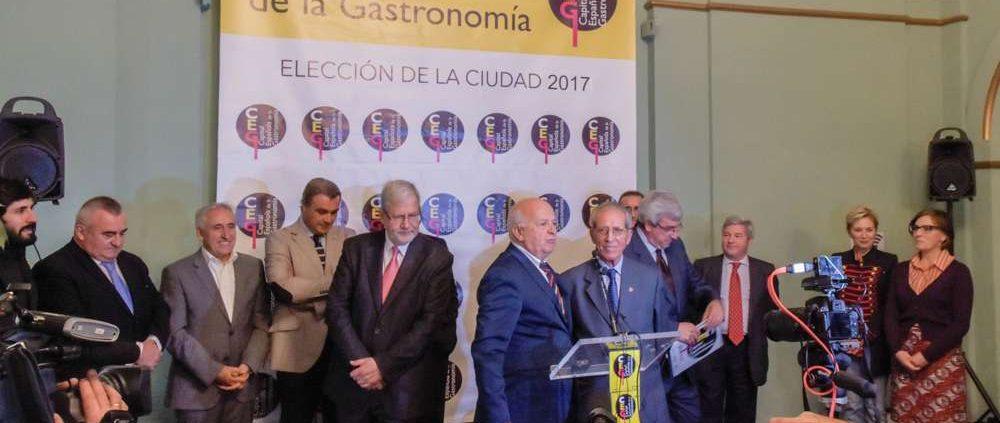 Elección Capital Gastronómica 2017 - Portada