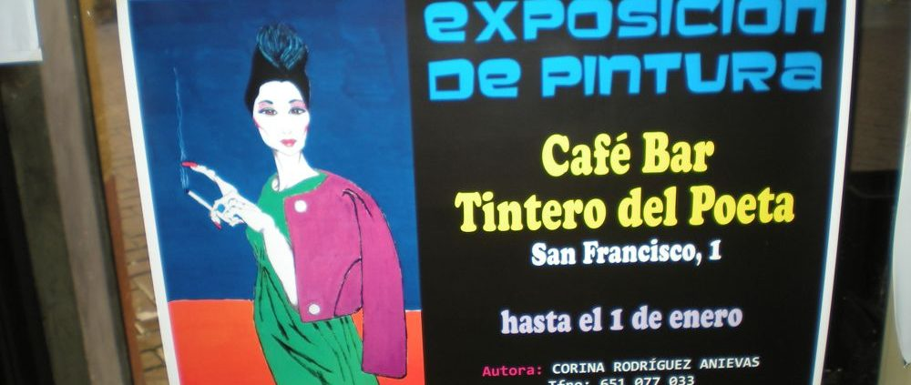 Exposición Corina Rodríguez Anieva en el Tintero del Poeta-1