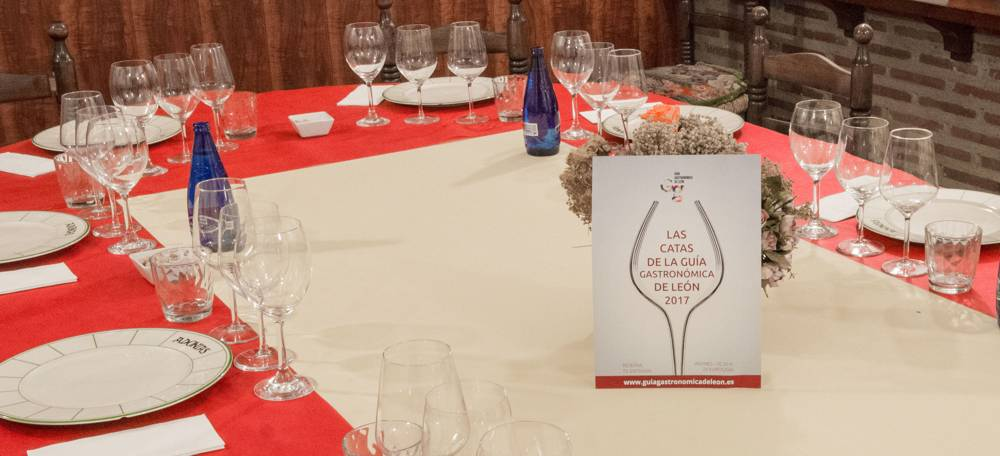 Cata Personalizada Restaurante Adonias - Grupo BBVA - Guía Gastronómica de León - 2