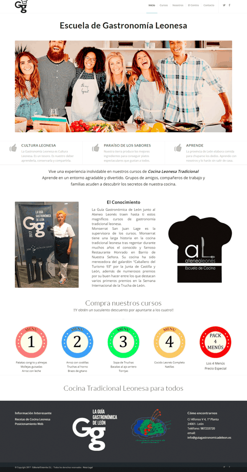 Escuela de Gastronomia Leonesa - imagen web