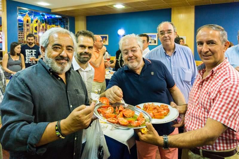 Academia Leonesa de Gastronomía y la XXVIII Feria del Tomate de Mansilla de las Mulas-2