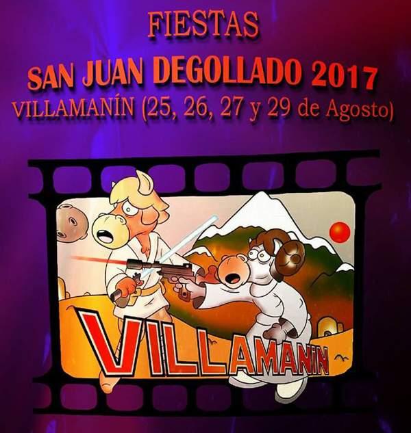Fiestas de San Juan Degollado en Villamanín