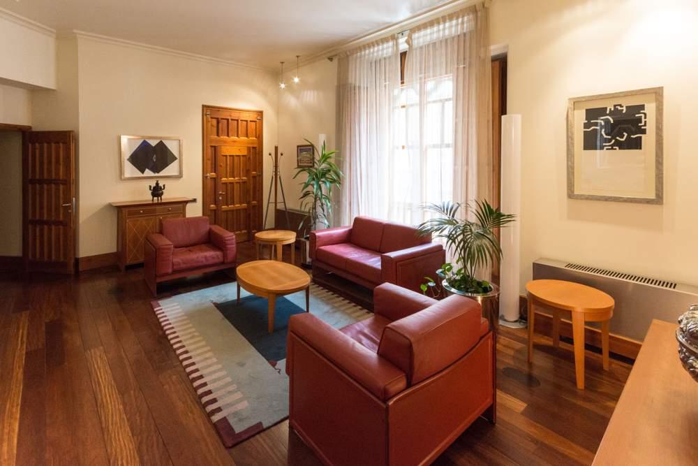 Sala de entrevistas - Museo Casa Botines