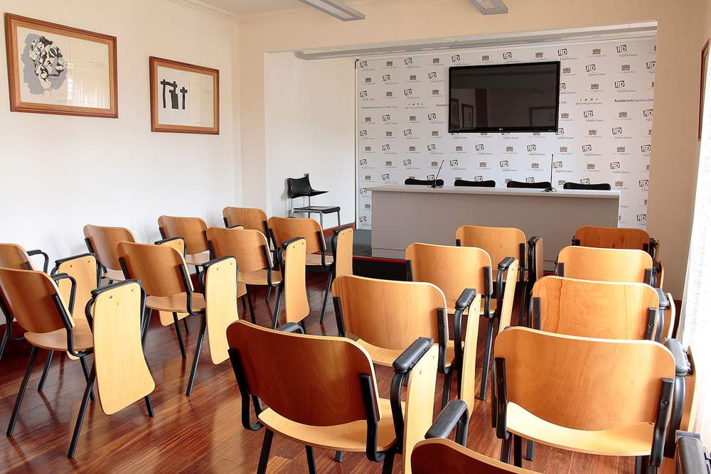 Sala de prensa - Museo Casa Botines