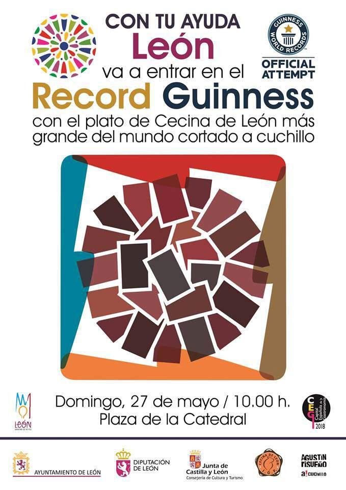 Plato de Cecina de León Record Guinness