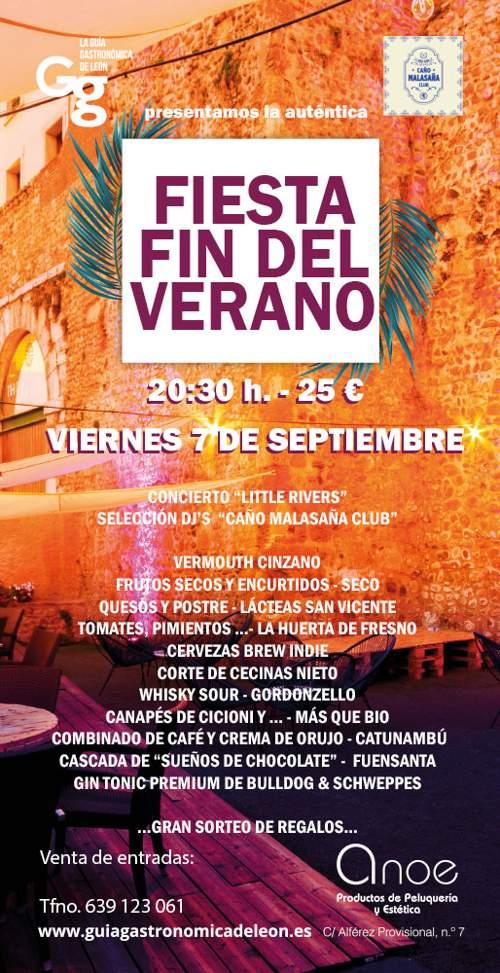 La Auténtica Fiesta Fin de Verano en León 2018