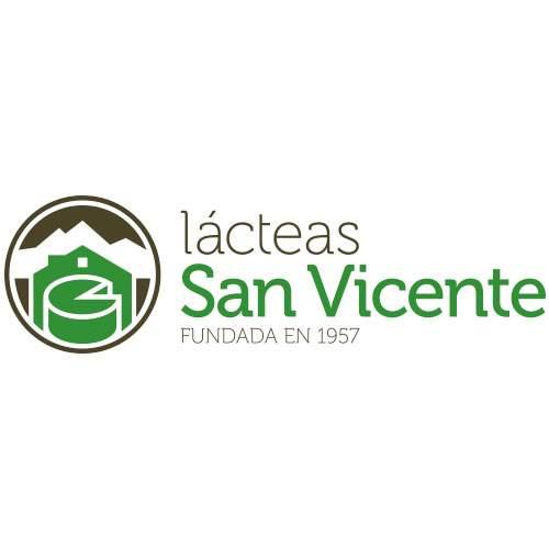 Lácteas San Vicente - Logo