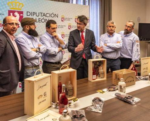Presentación de León Gourmet en la Diputación de León - 7