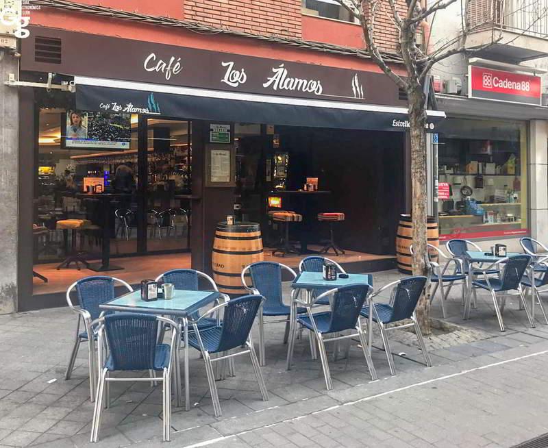 Cafetería Los Álamos 2019 - Portada