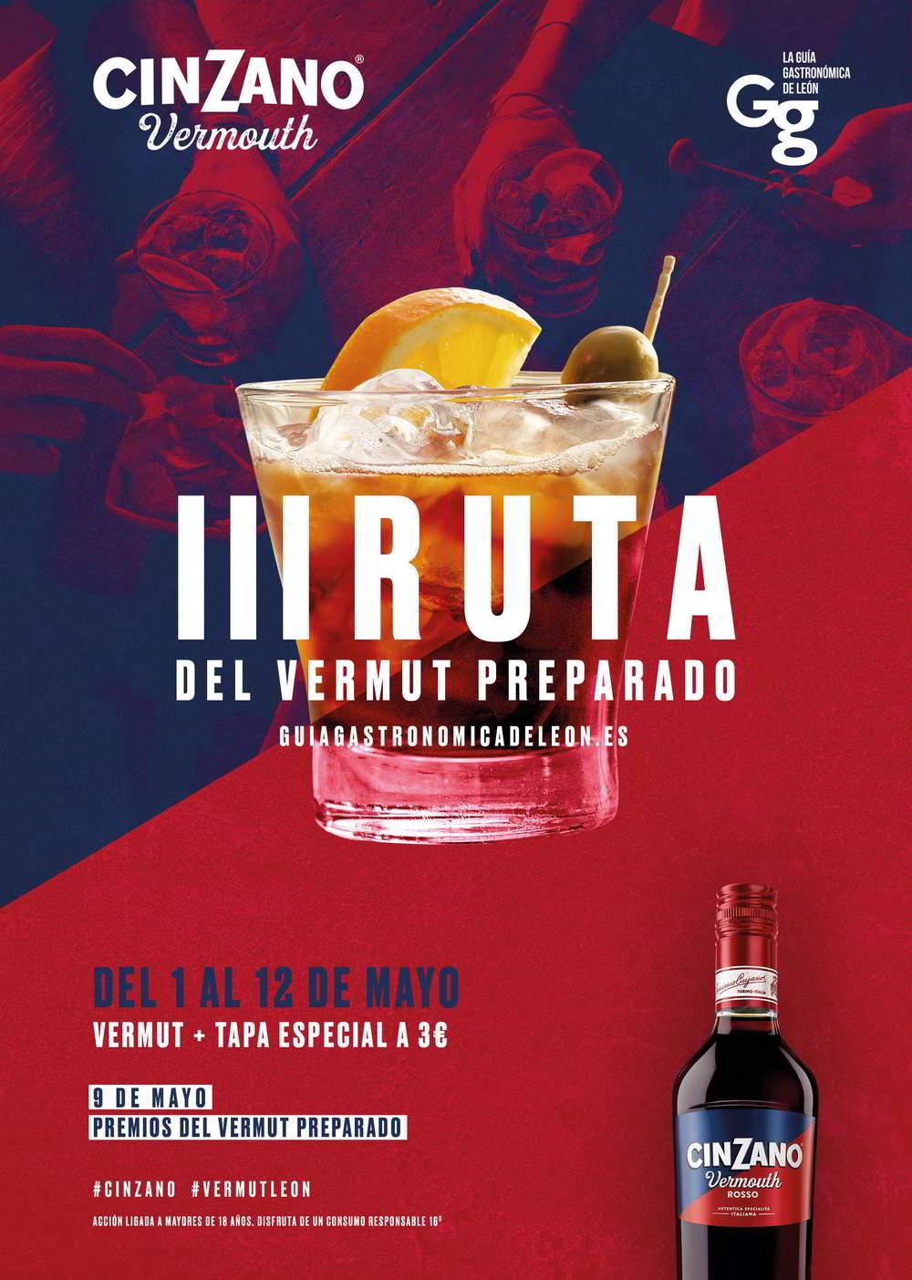 III Ruta del Vermut Preparado Cinzano León 2019 - 1