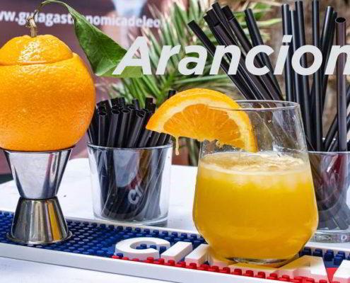 Arancione Cóctel Guía Gastronómica de León
