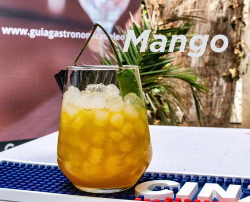 Mango Cóctel Guía Gastronómica de León