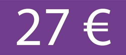 27 Euros - Circuito Premium