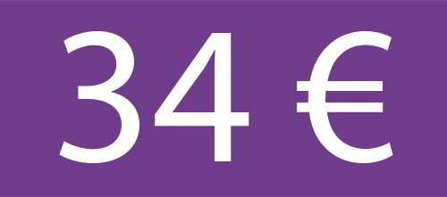 34 Euros - Circuito Premium