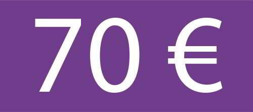 70 Euros - Circuito Premium