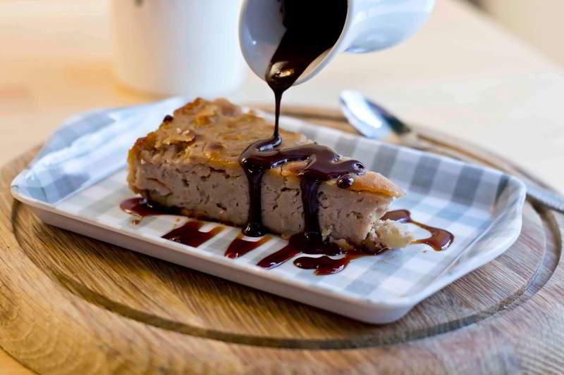Tarta de castañas del Bierzo - Le Qualitè Tasca Madrid